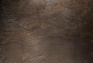 Chocolate lava flow fused bronze