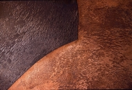 Leathered bronze